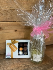 Prosecco and Luxury Belgian Chocolates