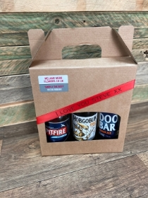 Six Real Ale Valentines Gift Set