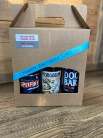 Triple Real ale gift box